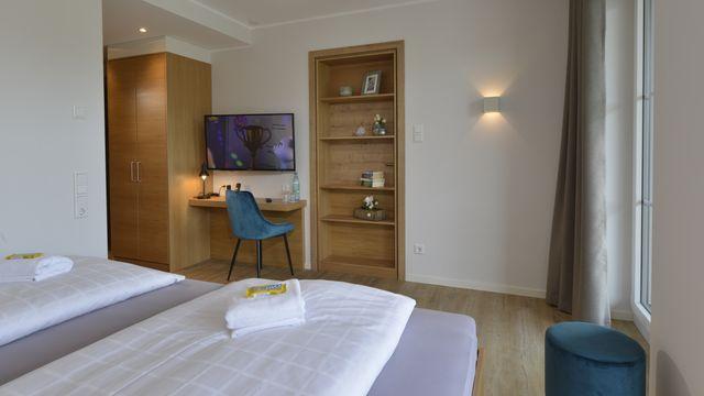 Doppelzimmer Waldliebe | 26 m²