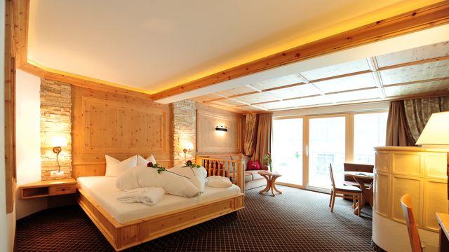 FZ Luxus Zirbenzimmer | 45 qm - 1-Raum