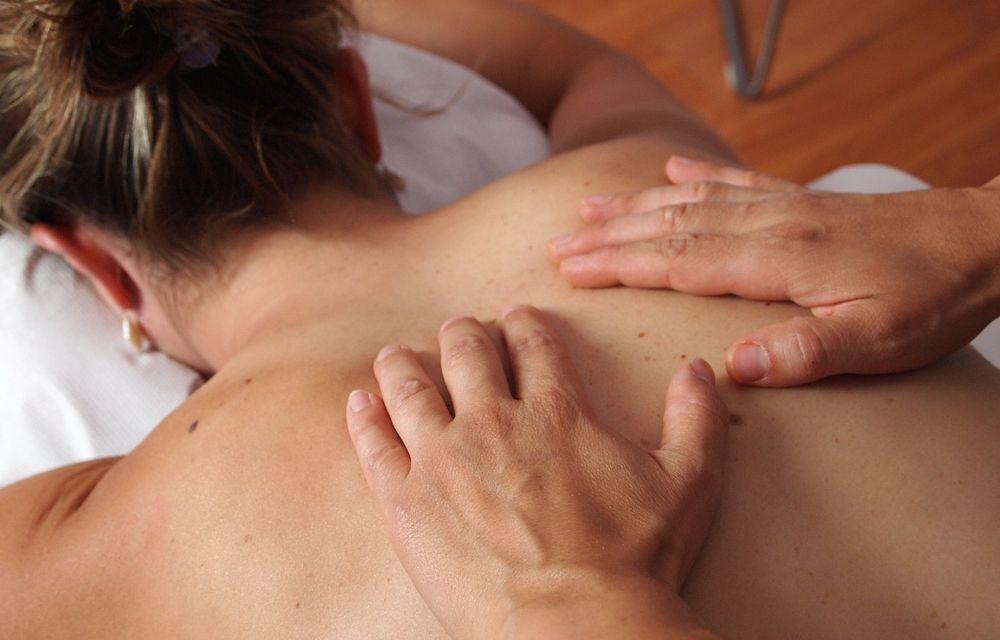 Klassische Teilkörpermassage