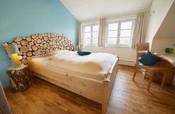 Biohotel LindenGut: Doppelzimmer Birke - LindenGut, Dipperz, Hessen, Deutschland