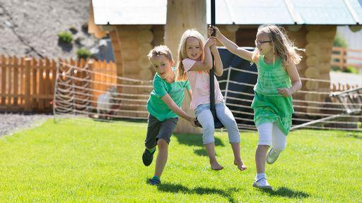 Action und jede Menge Spaß stehen im Almfamilyhotel Scherer im Vordergrund.