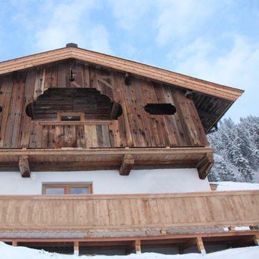 Winter, Hennleiten Hütte in Kitzbühel, Tirol, Tirol, Österreich