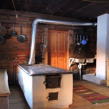 Unterkofler Almhütte, Küche