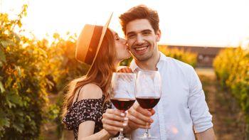 Romantische Erlebnisse / Genussvoller Liebesurlaub inmitten der Weinberge
