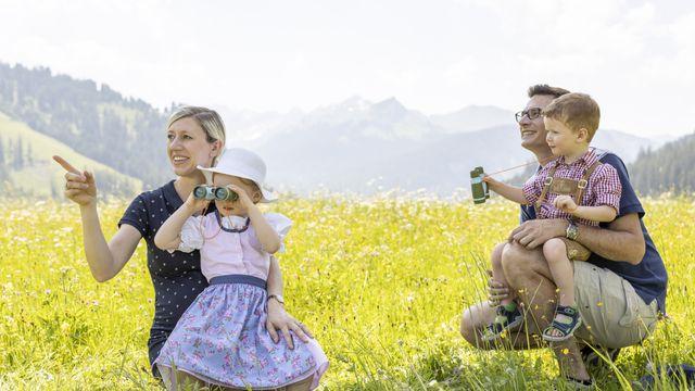 Familie - Berge, Wasser und Wellness