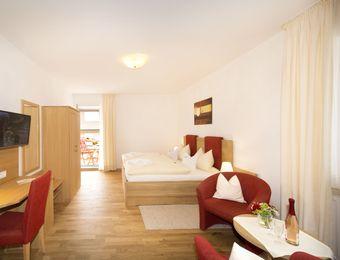 Doppelzimmer Komfort / Balkon - Bio-Hotel Melter