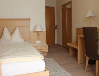 Einzelzimmer - Bio-Hotel Melter