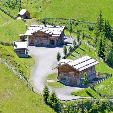 Summer, Oberprenner Zirbenhütte, Haus im Ennstal, Steiermark, Styria , Austria