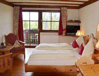 Double room | Organic country hotel garni - Naturresort Gerbehof