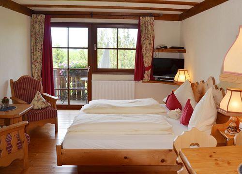 Double room | Organic country hotel garni (1/2) - Naturresort Gerbehof