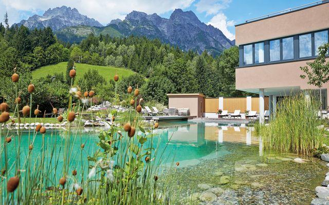 Bio Schwimmteich Hotel Rupertus Leogang