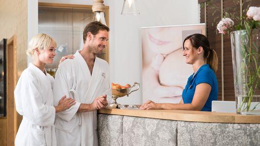 Wellnessbereich im Biohotel Rupertus