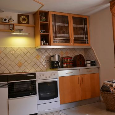 Sagmeister Hütte, Küche