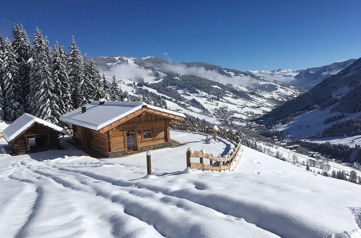 Eibingalm, Winter