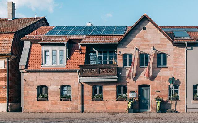 Biohotel Kunstquartier: Straßenansicht