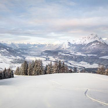Winter, Chalet Friedenalm in Pill, Tirol, Tirol, Österreich