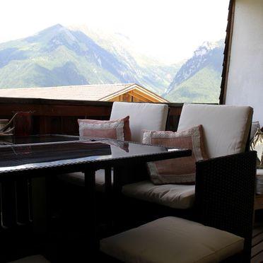 Terrasse, Schauinstal Hütte 2, Luttach, Südtirol, Trentino-Südtirol, Italien