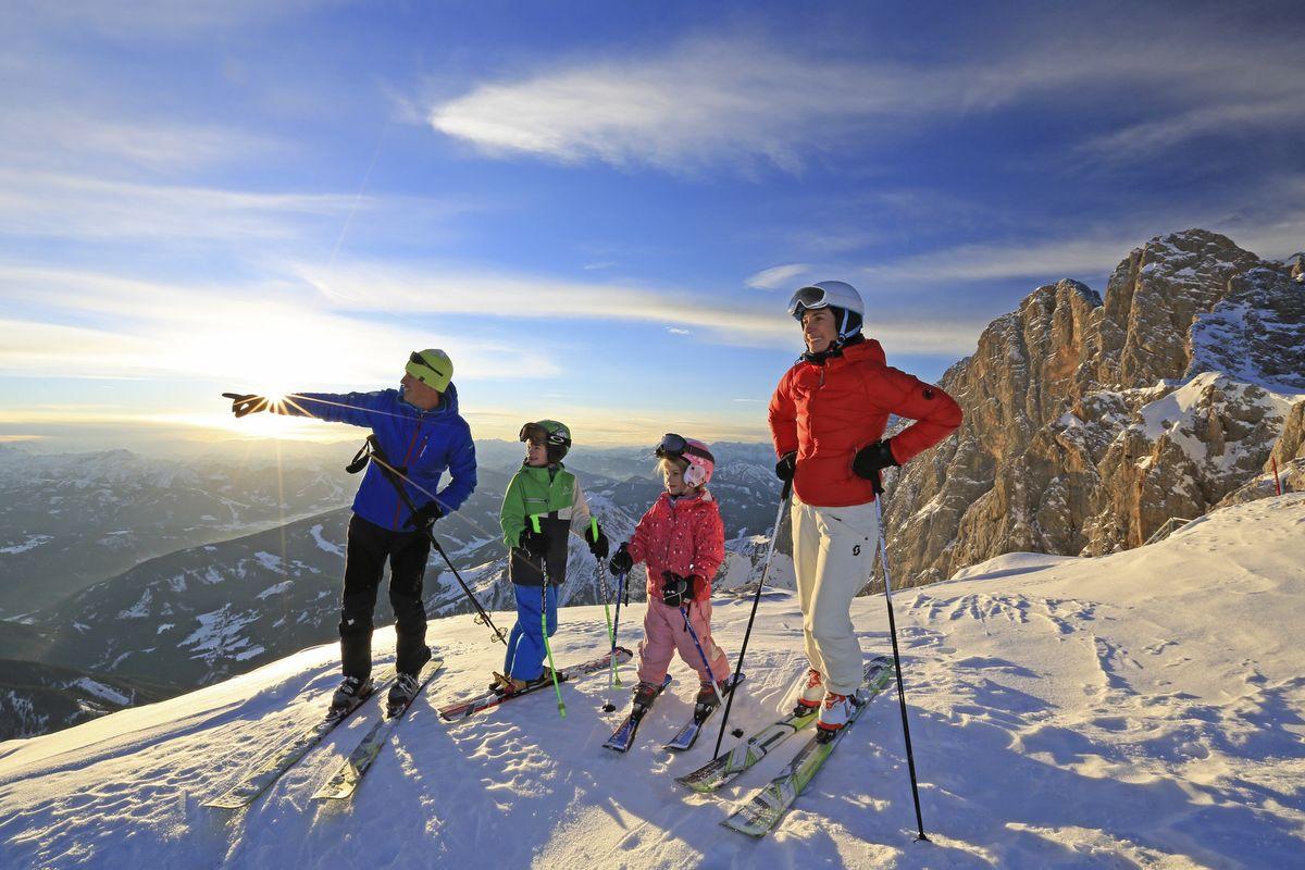 Oster Familien Skispaß 2 Erw. & 2 Kinder