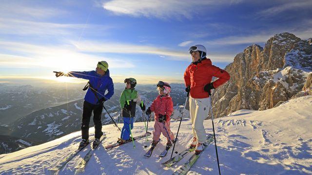 Oster Familien Skispaß 2 Erw. & 1 Kind