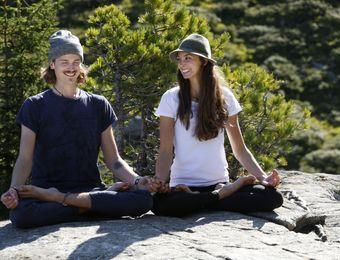 Biohotel Bergkristall Yoga am Berg in der Natur