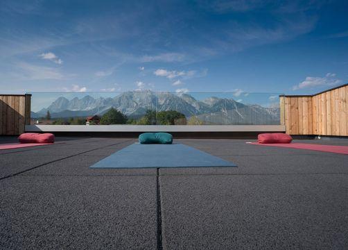 Bio- & Yogahotel Bergkristall, Schladming, Stiria, Austria (7/21)
