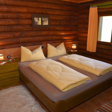 Berghütte Ahrntal, Schlafzimmer
