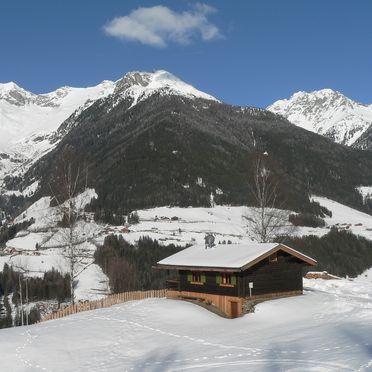 Winter, Berghütte Ahrntal in St. Johann im Ahrntal, Südtirol, Trentino-Südtirol, Italien