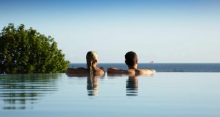 Infinity Pool DAS AHLBECK Hotel & Spa