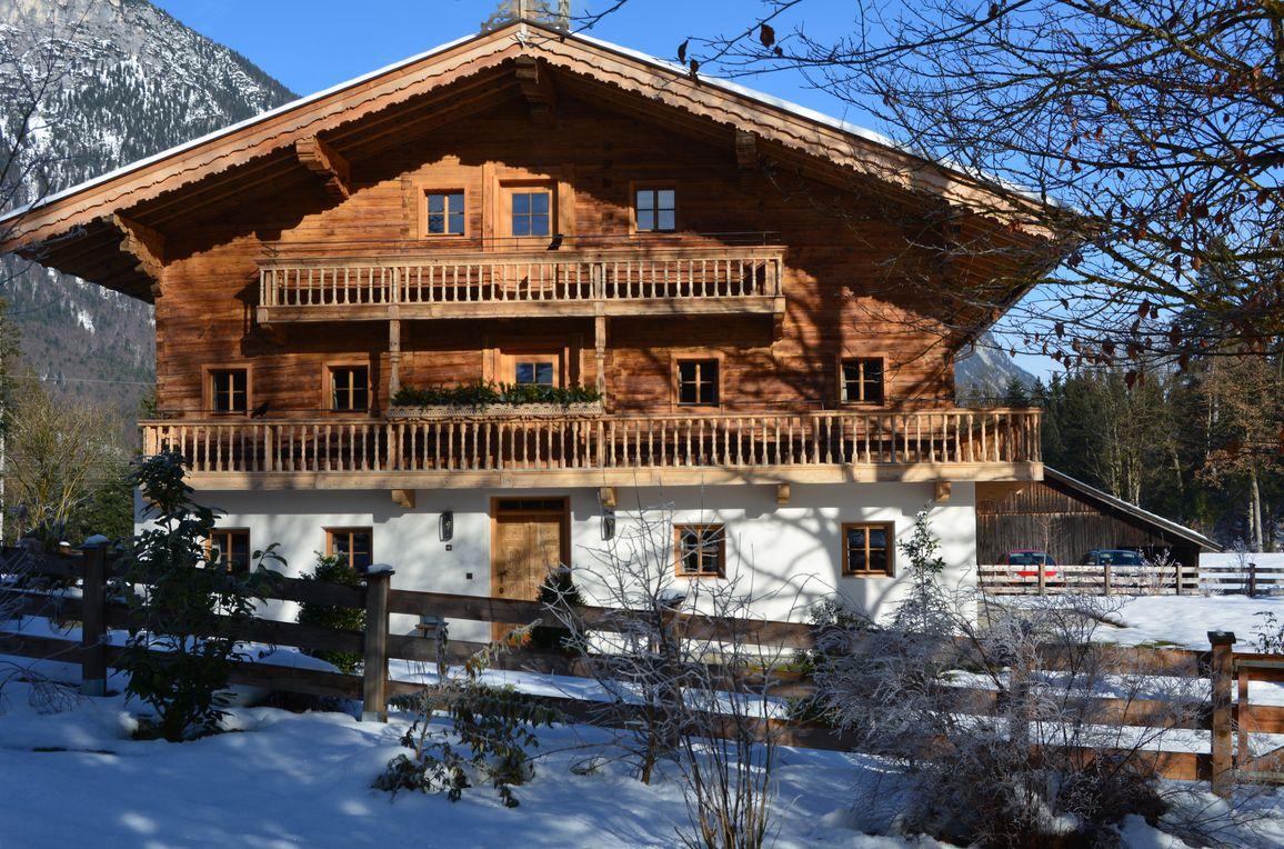 Bauernhaus Unterleming, Winter