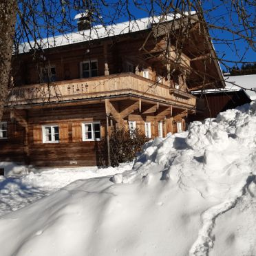 Winter, Bauernhaus Brixen, Brixen i. Thale, Tirol, Tyrol, Austria