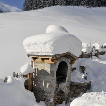 winter, Bergchalet Wolfskofel  in St. Johann im Ahrntal, Südtirol, Alto Adige, Italy