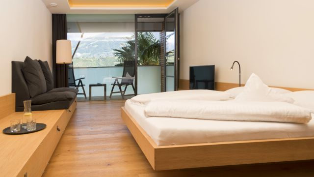 Doppelzimmer Meranblick