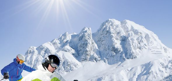 Nassfeld sun skiing