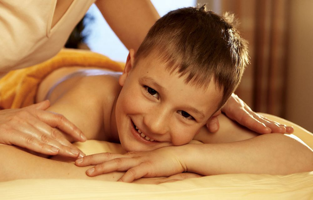 Baby-/Kindermassage
