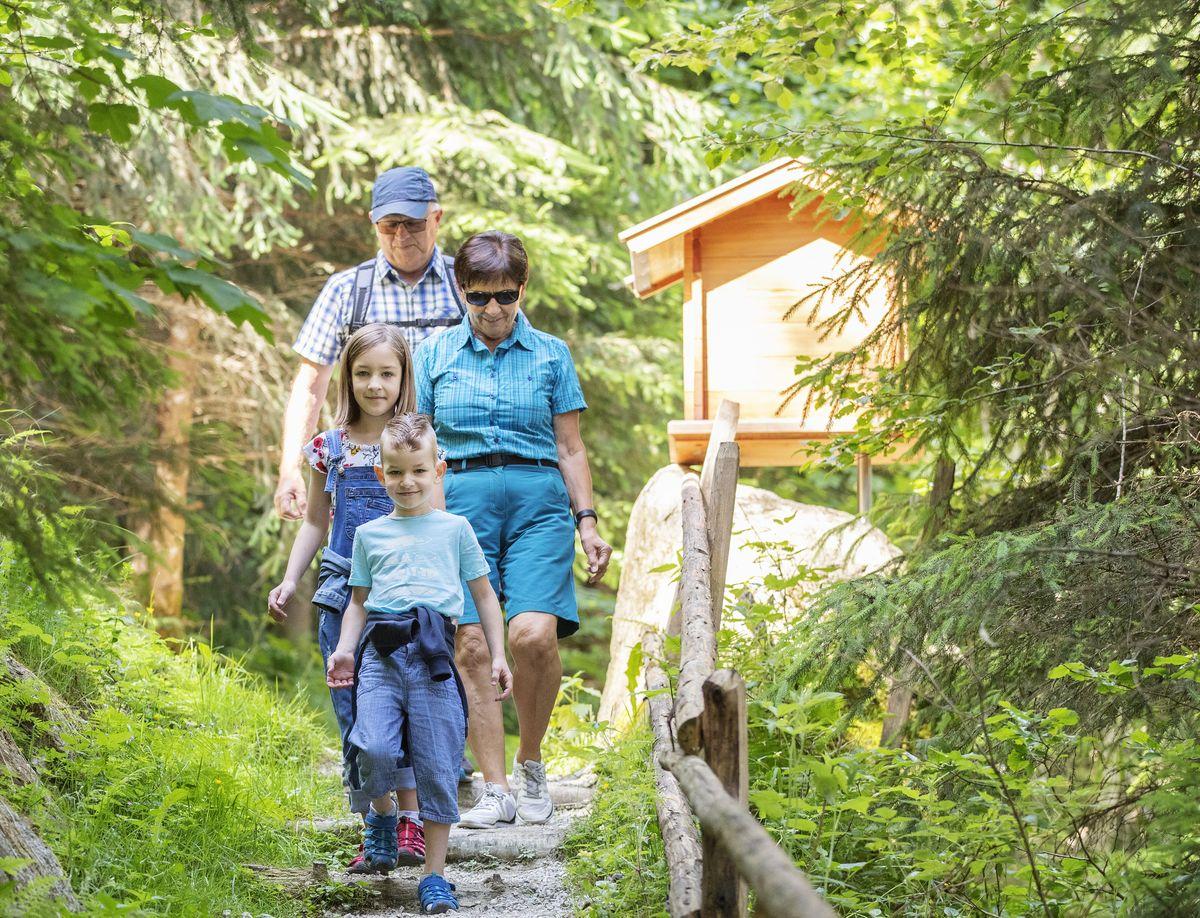 Familienurlaub mit Oma & Opa