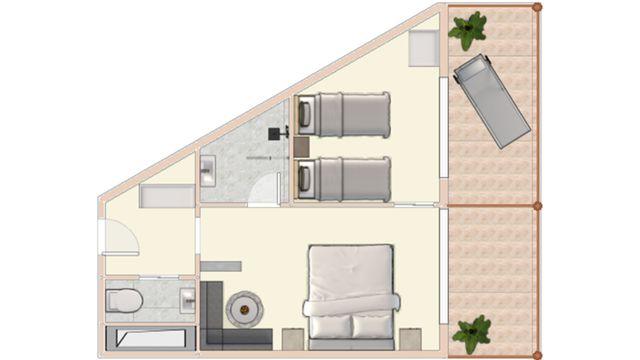 Sonnenbogen Suite superior 40m²