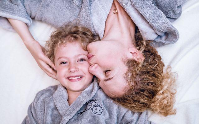 Mama und Tochter Zeit