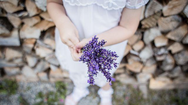 Blätter rascheln und leuchtende Kinderaugen