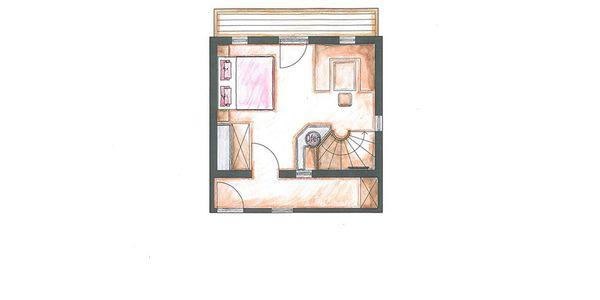 "Appartement ""Baum Schlössl"" Grundriss"