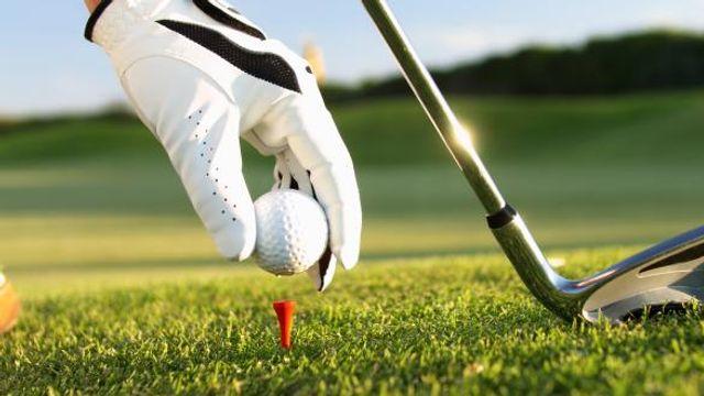 Golf mit Familie
