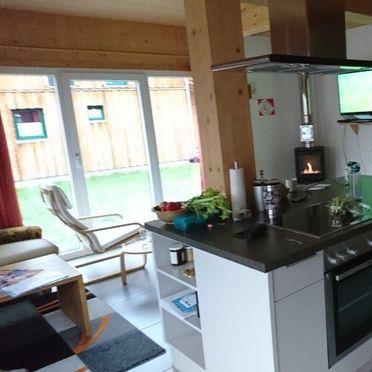 kitchen and livingroom, Chalet Spatzennest, Hohentauern, Steiermark, Styria , Austria