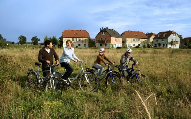 Dorfhotel mit Radverleih
