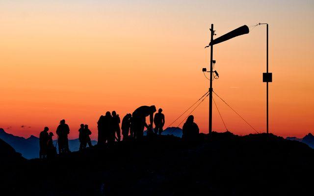 Sonnenaufgang Stoderzinken