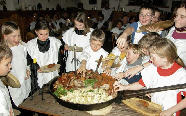 Kinder-Ritteressen-Thannegg