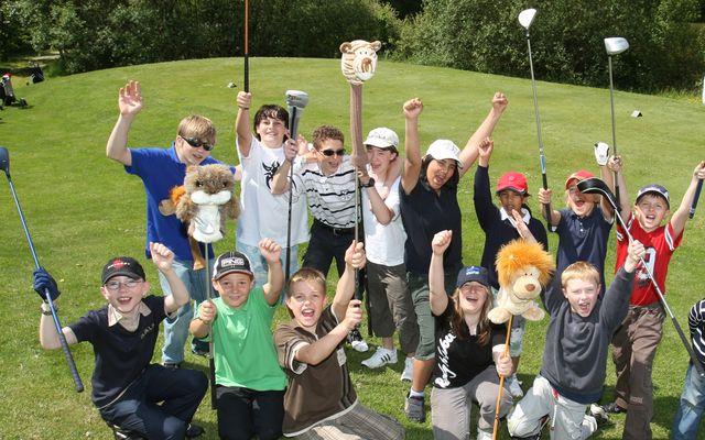 Kids Golf im DAS LUDWIG