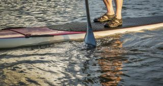 Stand Up Paddling auf Usedom
