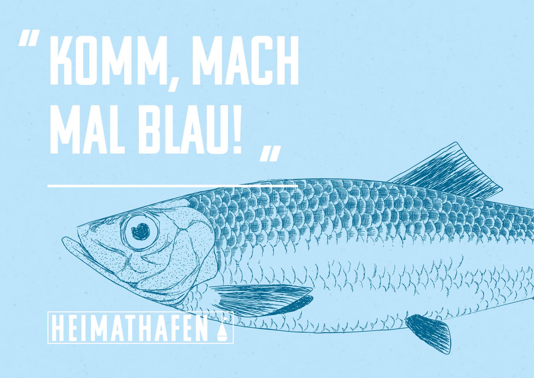 Heimathafen Usedom » Komm, lass blau machen.