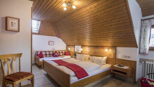Doppelzimmer Buche Typ 1 | ab 15 qm - 1 Raum