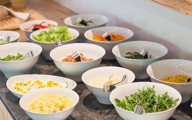 Traditionelle Küche mit regionalen Zutaten