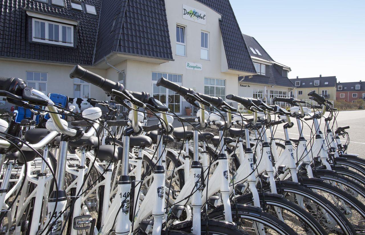 Fahrradverleih im DORFHOTEL